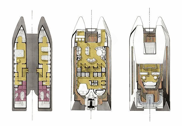 Catamaran Designs - Arthur C. Marks, Architect
