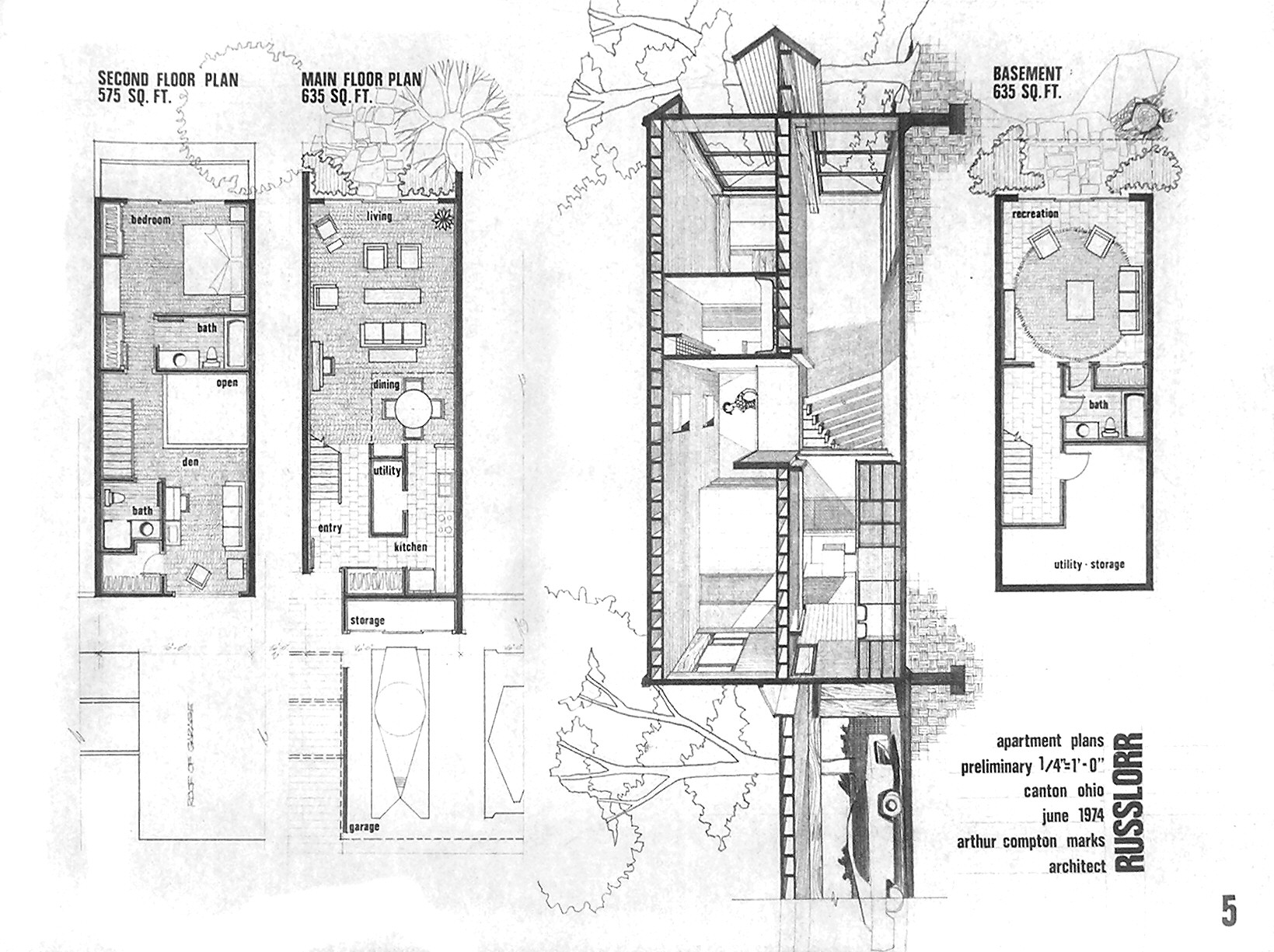 Home Ideas Rowhouse Plans