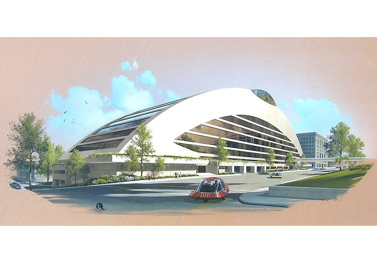 Proposal (c) ACM (Art Assoc rendering)